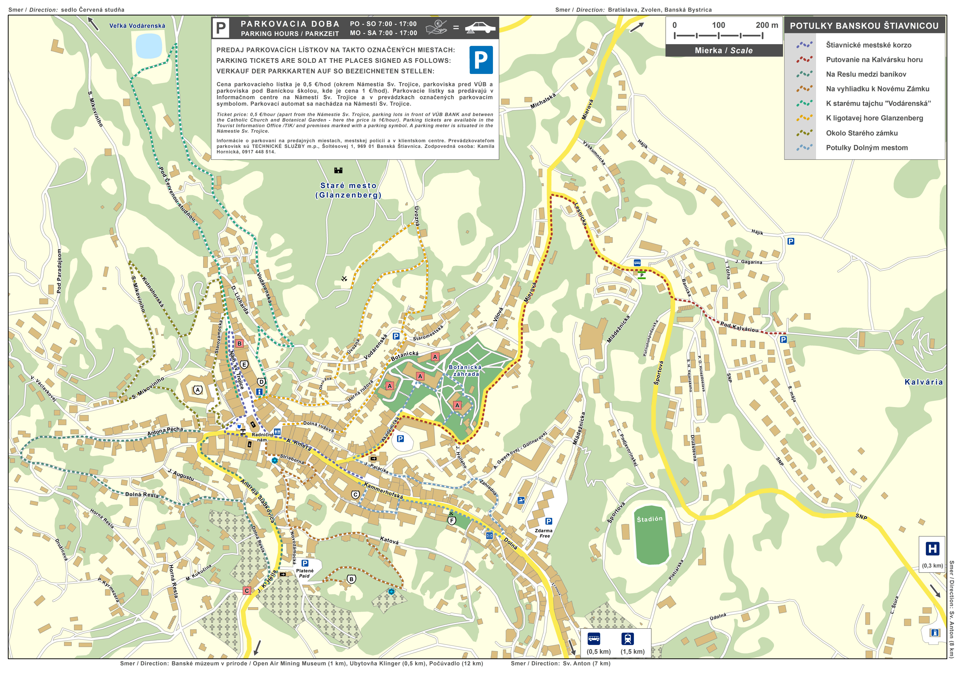 Map Of The Town